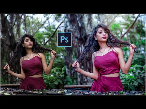 Fashion Photography l Professional Editing in Photoshop Tutorial thumbnail
