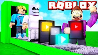 I WILL BE THE MOST FAMOUS YOUTUBER WITH 100,000,000 ABOS IN ROBLOX!