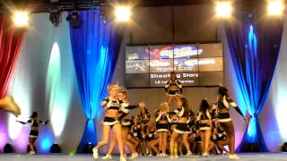 World Cup Shooting Stars at Spirit Cheer Nationals 2013