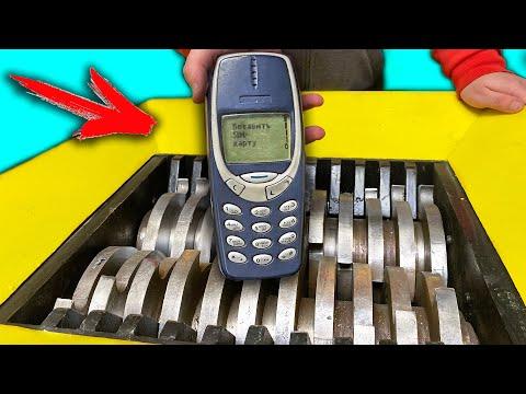 NOKIA 3310 ИЗДЕВАЕТСЯ над ШРЕДЕРОМ на протяжении 10 мин. - Видео онлайн