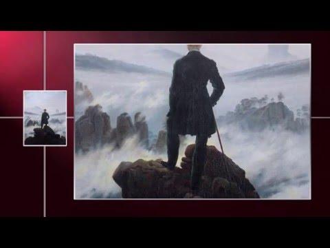 CASPAR DAVID FRIEDRICH - El Caminante del Mar de Nubes (Obras Maestras de la Pintura Universal)