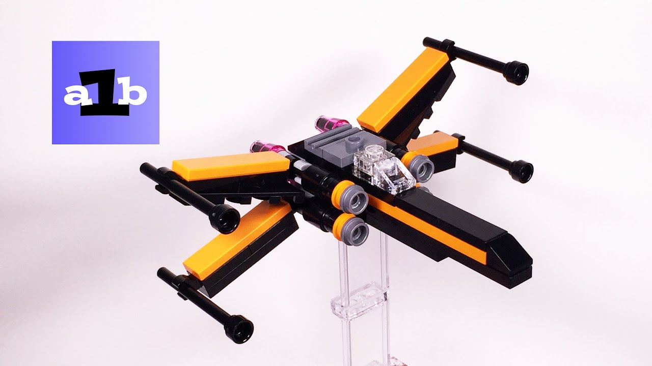Lego Star Wars 30278 Poes X Wing Fighter Mini Time Lapse Build 75102 Poeamp039s Youtube