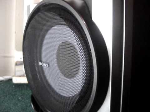 """Sony 8"""" Subwoofer - Bass I Love you - YouTube"""