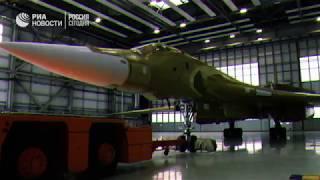 Обновленный ракетоносец Ту-160М2