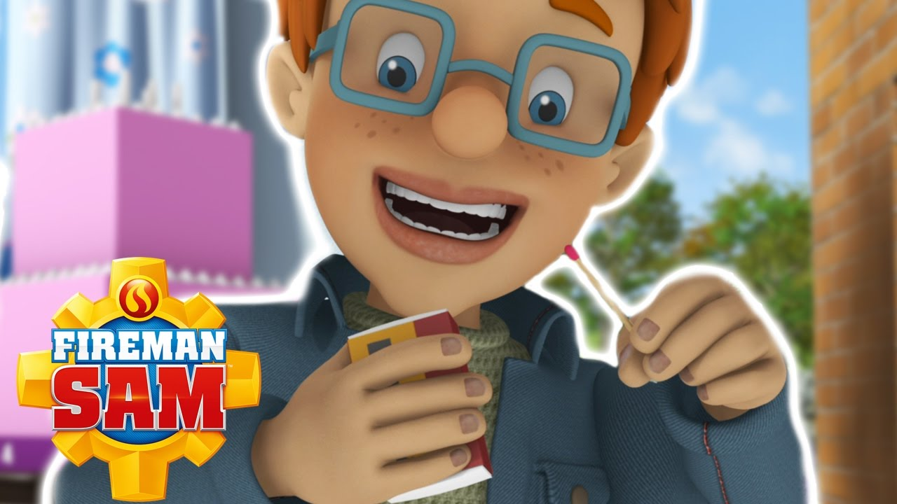 fireman sam us official candle safety youtube