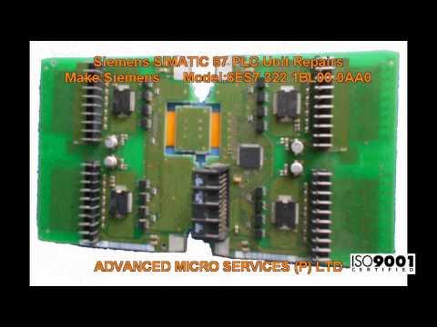 Siemens 6ES7 322 1BL00-0AA0 SIMATIC 87 PLC Unit Repairs @ Advanced Micro Services Pvt. Ltd