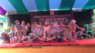 Indang Badinding Dance Cover by Girl's Student of TPQ AHSAN AL-QURRA'