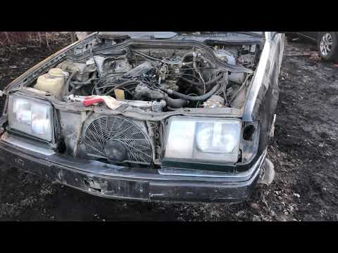 Как найти VIN номер двигателя на Mercedes Benz w124 2.0