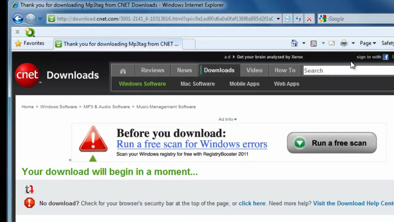 Download a File or Driver using Internet Explorer 7, or 8 ...