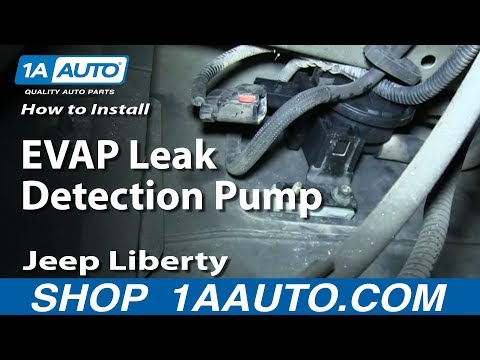 How to Replace Leak Detection Pump 04-06 Jeep Liberty