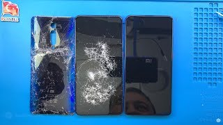 MERDİVENLERDEN DÜŞTÜ !!! 🇹🇷 Xiaomi Mi 9T Ekran ve Arka Cam Kapak Değişimi Sonrası Çalışır mı ?