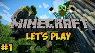 Lets Play Minecraft #1 A Good Start