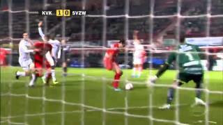 KV Kortrijk - SV Zulte-Waregem ( Matchverslag Stadion - VTM)