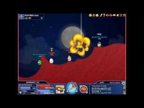 Bad Eggs Online 2 gameplay #15 (2v2)con killa:)