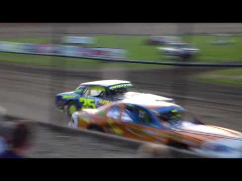 Stock Car Heat 2 @ Marshalltown Speedway 08/04/17