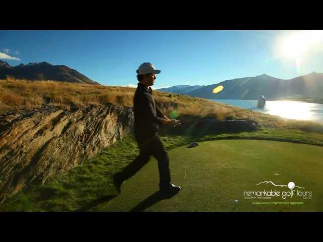 Jacks Point Golf Course - Queenstown New Zealand with Remarkable Golf Tours