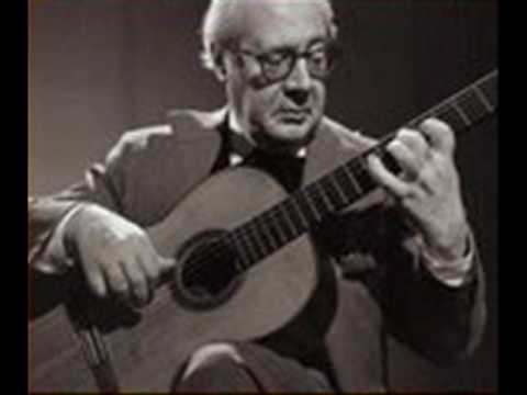 Capricho Arabe played by Segovia