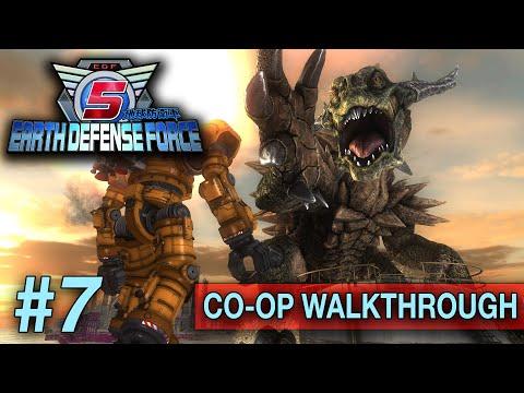 Earth Defense Force 5 [CO/OP] (PS4 WALKTHROUGH/GAMEPLAY) - Part 7 (31-39) thumbnail