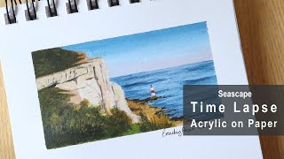 Time-Lapse Painting of Beachy Head