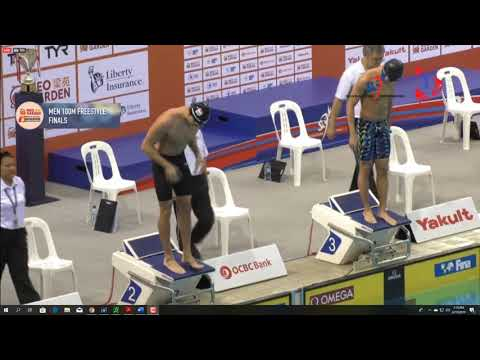 100m Free Schooling Gold Spore Open 2019