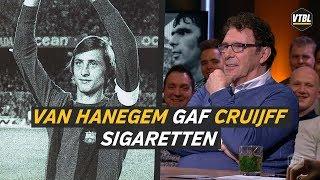Van Hanegem gaf Cruijff sigaretten: 'Johan was zo gierig als de zenuwen' - VTBL