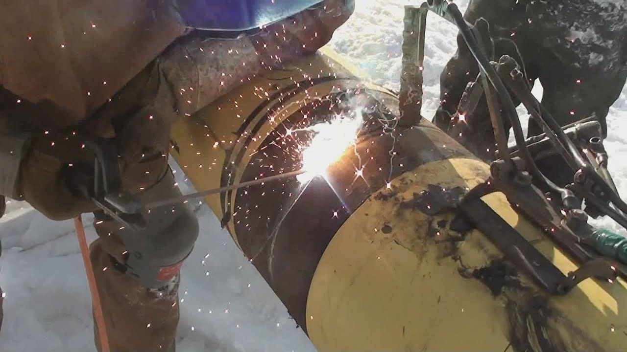 Pipeline Welding 12 Inch Mainline Youtube