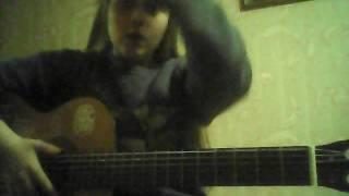 Заметался пожар голубой , стихи Есенина на аккорды гитары)