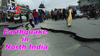 Major Earthquake Shakes North India | Records  6.8 On Richter Scale | TV5 News