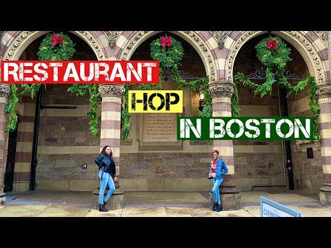 Restaurant Hop in Boston #11| Shake Shack| Downtown Boston | Moya Moy's Kitchen