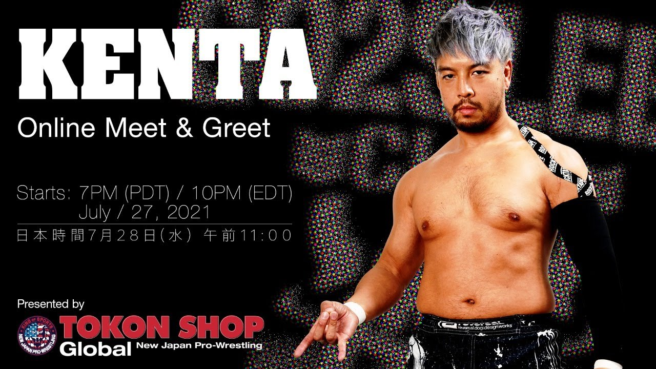 Tokon Shop Global Presents: KENTA Online Meet & Greet