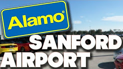 ALAMO CAR HIRE - SANFORD AIRPORT ORLANDO - COLLECTION & DROP OFF