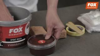 efekt: Rdza - FOX DEKORATOR - film instruktażowy