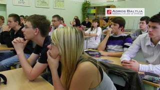 Открытый урок Михаила Джонджуа в 10-ом классе