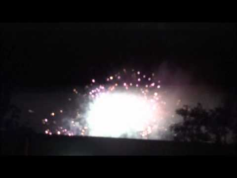 Footage From 2012 Fireworks Spectacular in Thousand Oaks, California