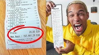 Sportwetten: 157.991€ mit 20€ gewonnen!! **Das Experiment**