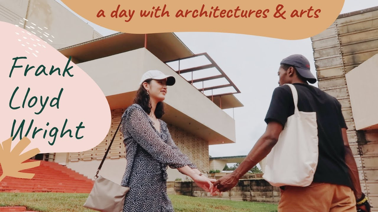 A day with Frank Lloyd Wright Architecture and Arts|Blasian Couple|sometimes with Keys
