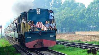 Dewanganj Commuter: Dewanganj To Dhaka Most Crowded Train Of Bangladesh Railwa || BD RAIL