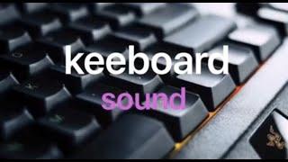 키보드소리  | ASMR | keyboard typin…