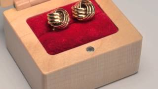 Handmade Wood Ring Boxes