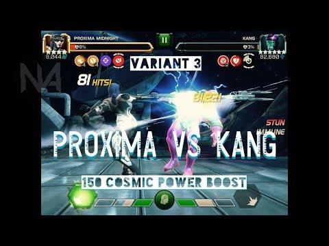 4 Star Proxima Midnight Vs Variant 3 Kang Boss