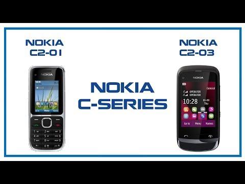 NOKIA C-SERIES   Nokia C2-01 to Nokia C2-03