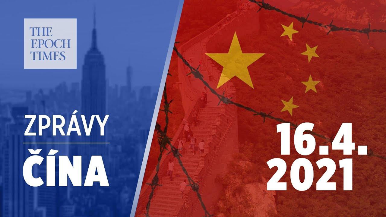 Události v Číně: 16. dubna 2021