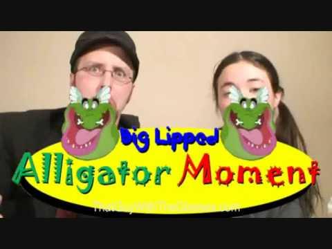 A BIG LIPPED ALLIGATOR MOMENT