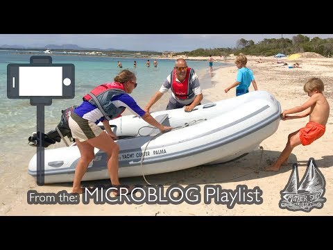 Test Drive & Review Of Our New AB RIB - Best Dinghy Tender For Our Sailboat (In Our Opinion!)
