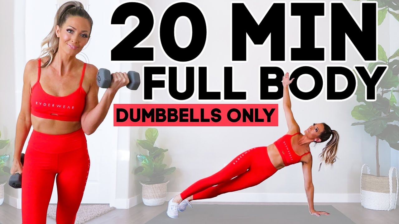 9 Minute FULL BODY Burn  Lose 9 Pounds in 9 DAYS  Dumbbells Only 9  Day Challenge