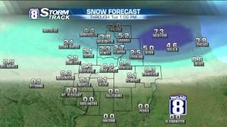 Evening Forecast for Monday February 29th