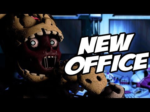 A BRAND NEW HIDDEN OFFICE IS COMING?! | Five Nights at Freddys 6 ULTIMATE Custom Night