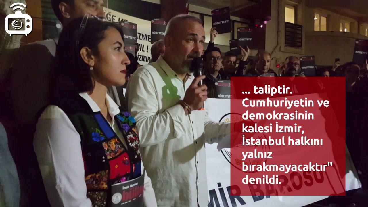 İzmir Barosu: 23 Haziran seçimlerinde İstanbul'da görev almaya talibiz