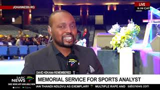 Remembering David Kekana