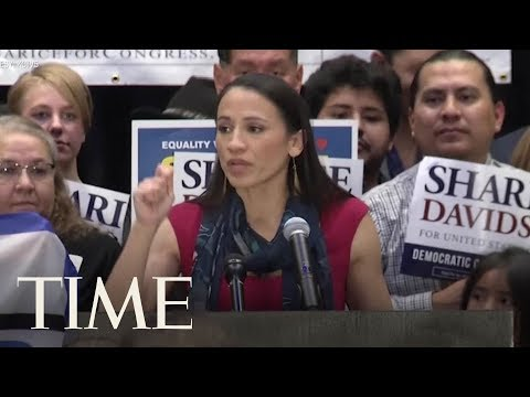 Sharice Davids To Become First Gay Native American Woman Elected To The House | TIME